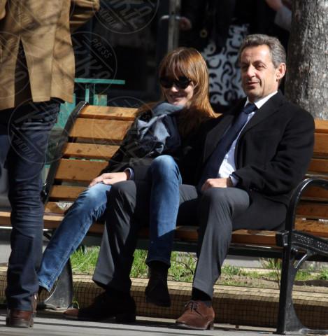 Nicolas Sarkozy, Carla Bruni - Parigi - 23-03-2014 - Carla Bruni a Verissimo: