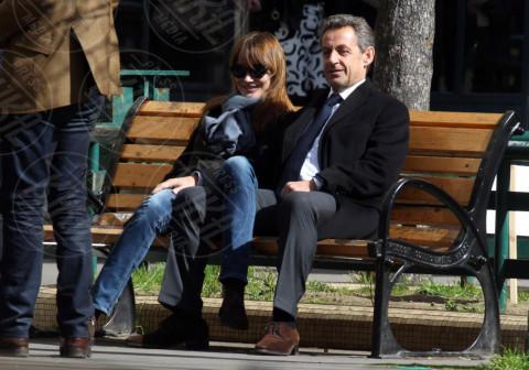 Nicolas Sarkozy, Carla Bruni - Parigi - 23-03-2014 - L'ex presidente Sarkozy in stato di fermo per concussione