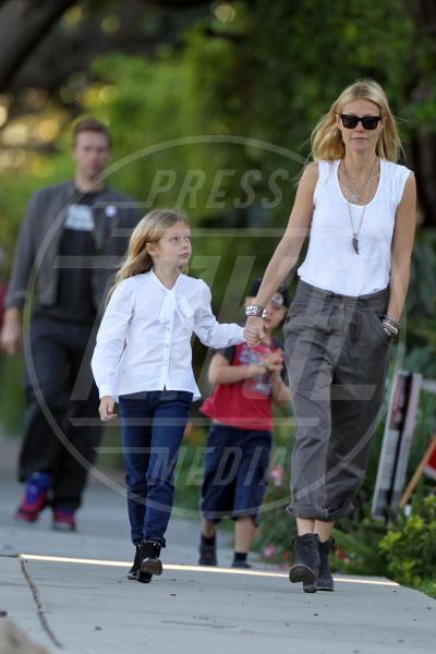 Moses Martin, Chris Martin, Gwyneth Paltrow - Los Angeles - 26-10-2012 - Heidi Klum e Seal: il divorzio meglio riuscito dello showbiz