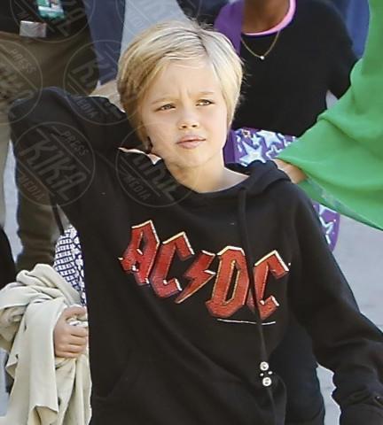 Knox Leon Jolie Pitt - Los Angeles - 05-02-2014 - Sei uguale ai tuoi genitori! I vip ricorrono alla clonazione?