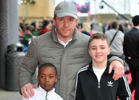 David Ritchie, Guy Ritchie, Rocco Ritchie - Londra - 31-03-2012 - Sei uguale ai tuoi genitori! I vip ricorrono alla clonazione?