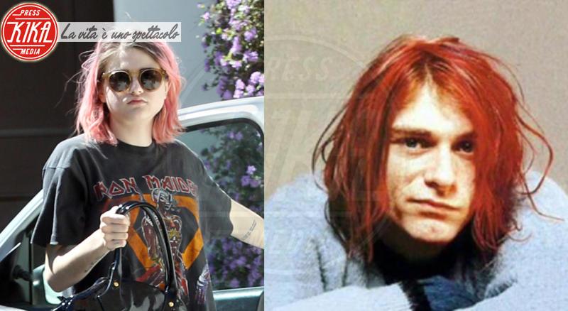 Frances Bean Cobain, Kurt Cobain - Los Angeles - 15-10-2013 - Stefano e Santiago De Martino: due gocce d'acqua