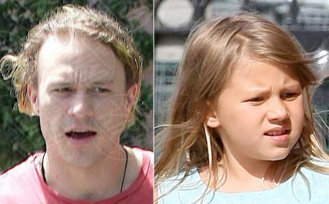 Matilda Ledger, Heath Ledger - 11-09-2013 - Sei uguale ai tuoi genitori! I vip ricorrono alla clonazione?