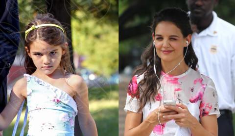 Suri Cruise, Katie Holmes - 11-09-2013 - Sei uguale ai tuoi genitori! I vip ricorrono alla clonazione?