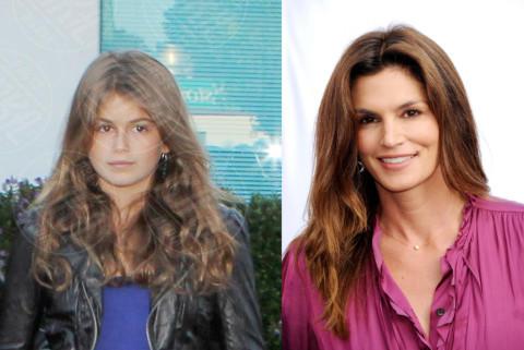 Kaia Gerber, Cindy Crawford - 11-09-2013 - Sei uguale ai tuoi genitori! I vip ricorrono alla clonazione?
