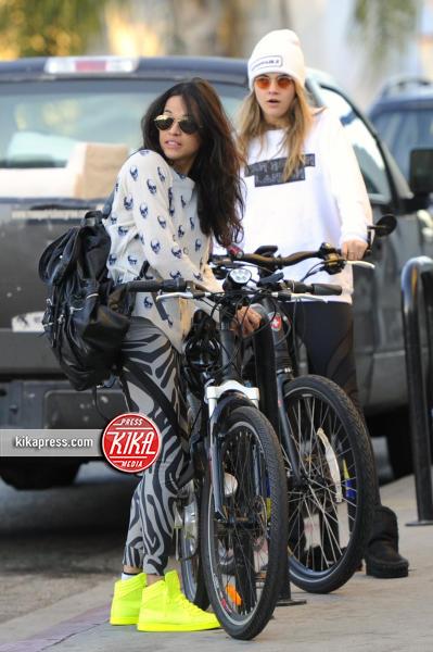 Cara Delevingne, Michelle Rodriguez - Los Angeles - 14-01-2014 - Erin Foster: dalla relazione con Samantha Ronson a Harry Styles