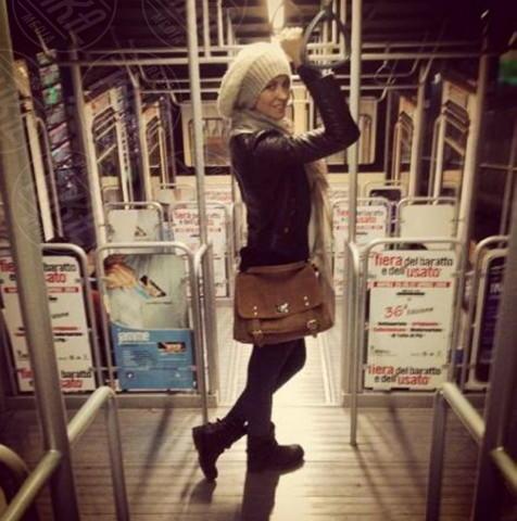 Elena Santarelli - Los Angeles - 31-03-2014 - Dalle stelle…ai cunicoli ferroviari della metro
