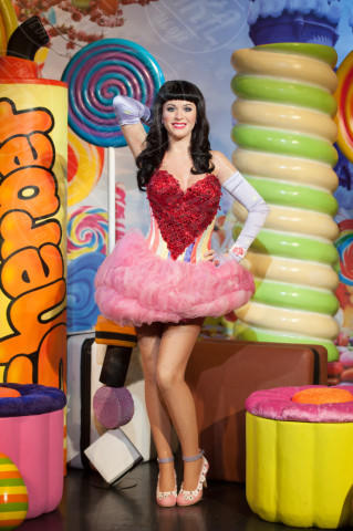 Katy Perry - Londra - 02-04-2014 - Ricky Martin è l'ultima delle star a restare...di cera!