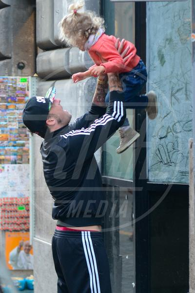 Mia Facchinetti, Francesco Facchinetti - Roma - 02-04-2014 - Mammo son tanto felice, il lato paterno dei vip