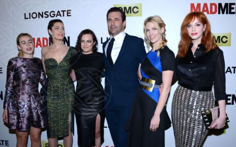 Kiernan Shipka, Jon Hamm, Christina Hendricks, Jessica Parè, Elisabeth Moss, January Jones - Hollywood - 02-04-2014 - Mad Men 10 anni dopo: cosa fanno oggi le donne di Don Draper