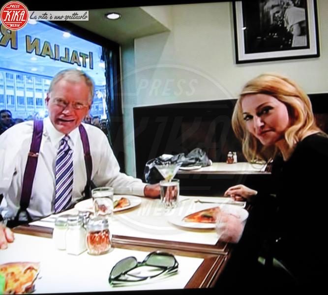 David Letterman, Madonna - New York - 01-10-2009 - La pizza patrimonio dell'Unesco: ma le star lo sapevano già!