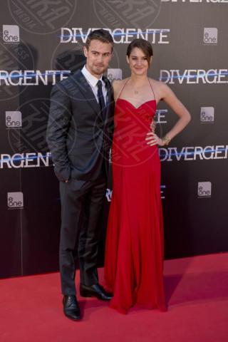 Theo James, Shailene Woodley - Madrid - 03-04-2014 - Theo James: