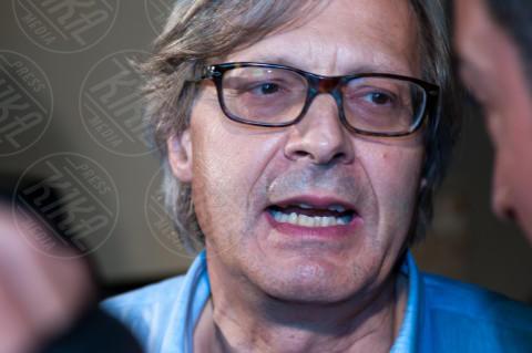 Vittorio Sgarbi - Palermo - 04-07-2012 - Sgarbi dà della capra alla Boldrini:
