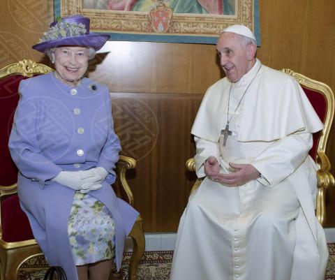 Papa Francesco, Regina Elisabetta II - Roma - 03-04-2014 - Dio salvi la regina: Elisabetta II compie 89 anni