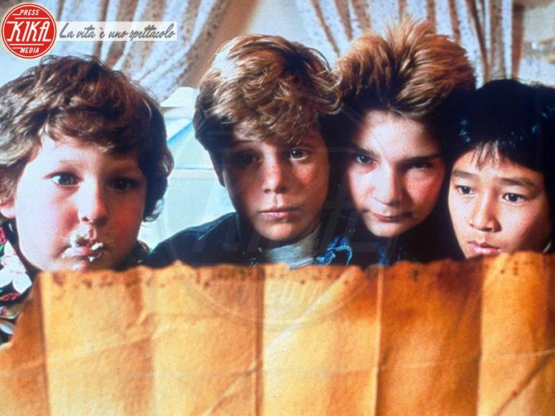 Jeff Cohen, Goonies, Jonathan Ke Quan, Corey Feldman, Sean Astin - Los Angeles - 01-01-1985 - Sean Astin: