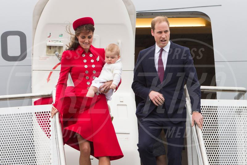 Principe George, Principe William, Kate Middleton - Wellington - 07-04-2014 - Kate Middleton, la principessa che non fa una piega…