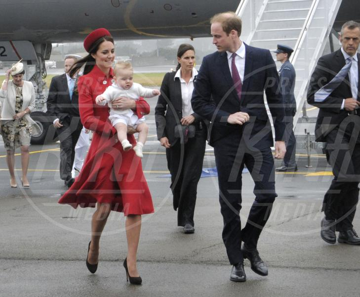 Principe George, Principe William, Kate Middleton - Wellington - 07-04-2014 - Kate Middleton, più che un viaggio… una sfilata!