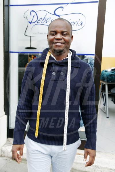Ibrahim Busari Adebowale - Brescia - 03-04-2014 - Da profugo a stilista: la storia di Ibrahim