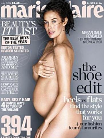 Megan Gale - 07-04-2014 - Serena Williams nuda con il pancione su Vanity Fair