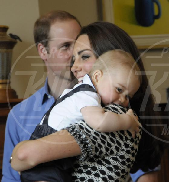 Principe George, Principe William, Kate Middleton - Wellington - 09-04-2014 - Primo Ministro? Presidente? No, mammo