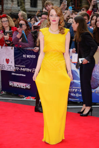 Emma Stone - Londra - 10-04-2014 - Vade retro abito! Emma Stone in Atelier Versace