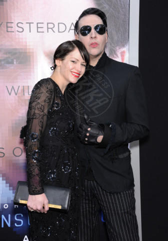 Lindsay Usich, Marilyn Manson - Westwood - 10-04-2014 - Non solo Emma Watson e Dan Stevens: le Belle e le Bestie vip!