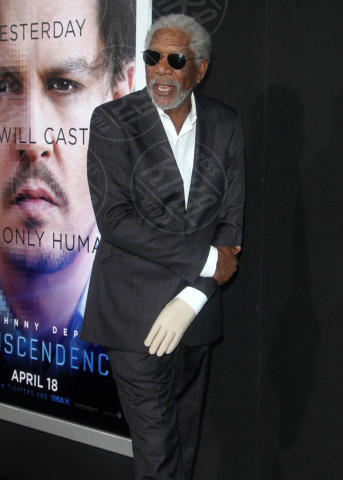 Morgan Freeman - Los Angeles - 10-04-2014 - La mano sinistra di Morgan Freeman è paralizzata