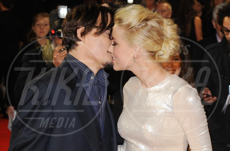 Amber Heard, Johnny Depp - Londra - 03-11-2011 - Erin Foster: dalla relazione con Samantha Ronson a Harry Styles