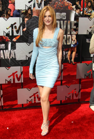 Bella Thorne - Los Angeles - 13-04-2014 - Verde acqua, turchese, azzurro Tiffany: i colori dell'estate