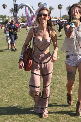 Audrina Patridge - Los Angeles - 14-04-2014 - Con le celebs anche la tuta diventa fashion!