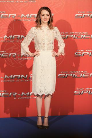 Emma Stone - Roma - 14-04-2014 - Emma Stone, uno stile impeccabile sul red carpet