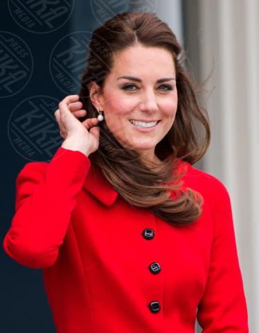 Kate Middleton - Christchurch - 14-04-2014 - Kate Middleton è la signora in rosso… di nuovo!