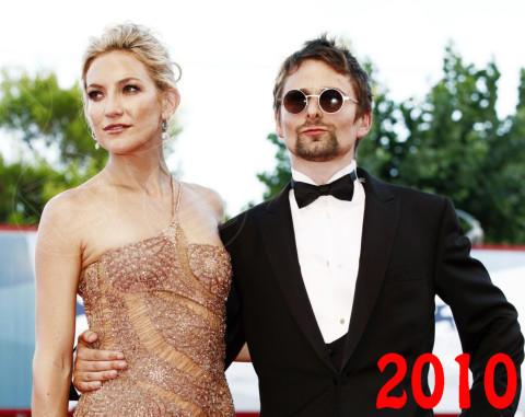 Matt Bellamy, Kate Hudson - Venezia - 28-08-2012 - Ti amo ma non ti sposo: le coppie di fatto Vip
