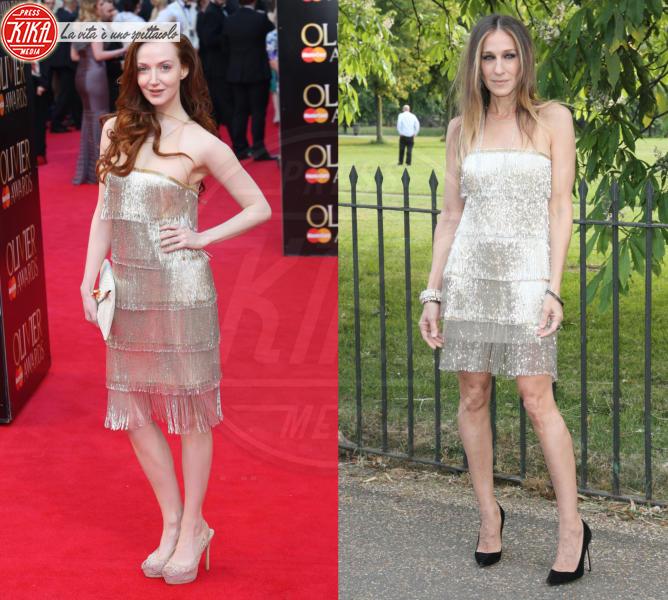 Olivia Grant, Sarah Jessica Parker - Londra - 14-04-2014 - Olivia Grant e Sarah Jessica Parker: chi lo indossa meglio?