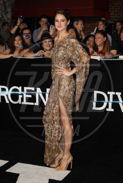 Shailene Woodley - Los Angeles - 19-03-2014 - Le gambe: elementi di fascino da ostentare anche d'inverno