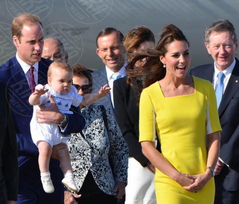 Principe George, Principe William, Kate Middleton - Sydney - 16-04-2014 - Il Principe William e baby George immortalati…nel cioccolato!