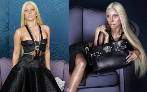 Lady Gaga - 16-04-2014 -  Quando il ritocco fai da te c'è... e si vede!
