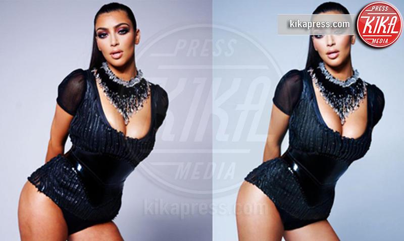 Kim Kardashian - 15-08-2012 -  Quando il ritocco fai da te c'è... e si vede!