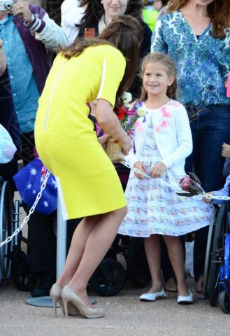 Kate Middleton - Sydney - 16-04-2014 - Vita da Kate Middleton? Provate a mettervi nelle sue scarpe!