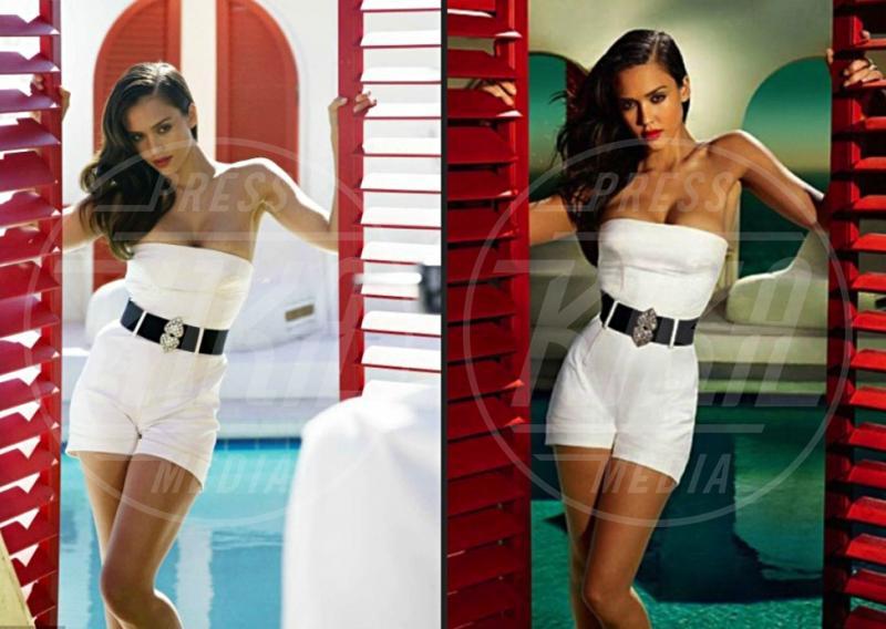 Jessica Alba - 08-05-2012 -  Quando il ritocco fai da te c'è... e si vede!