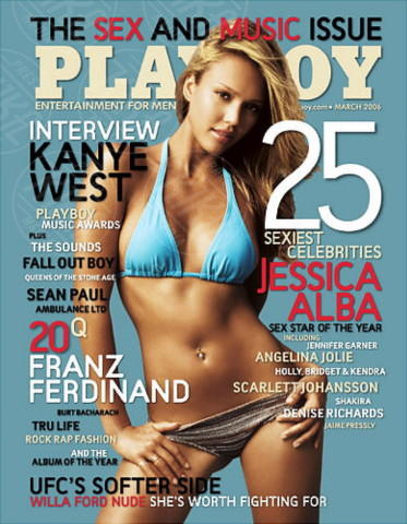 Jessica Alba - Los Angeles - 17-04-2014 - La rivista Playboy festeggia i sessant'anni