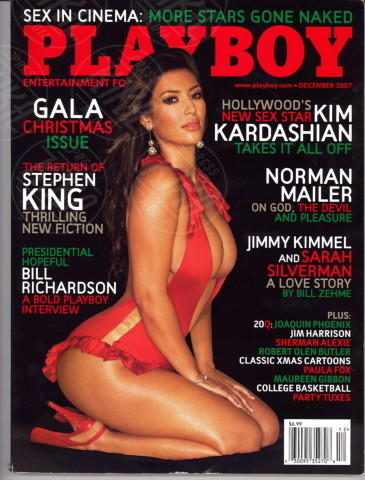 Kim Kardashian - Los Angeles - 17-04-2014 - La rivista Playboy festeggia i sessant'anni