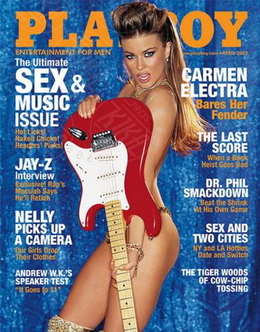 Carmen Electra - Los Angeles - 17-04-2014 - La rivista Playboy festeggia i sessant'anni