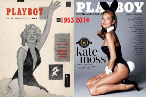 Marilyn Monroe, Kate Moss - Los Angeles - 17-04-2014 - La rivista Playboy festeggia i sessant'anni