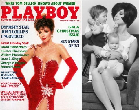 Joan Collins - Los Angeles - 17-04-2014 - La rivista Playboy festeggia i sessant'anni