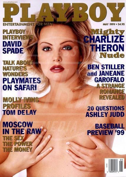 Charlize Theron - Los Angeles - 17-04-2014 - La rivista Playboy festeggia i sessant'anni