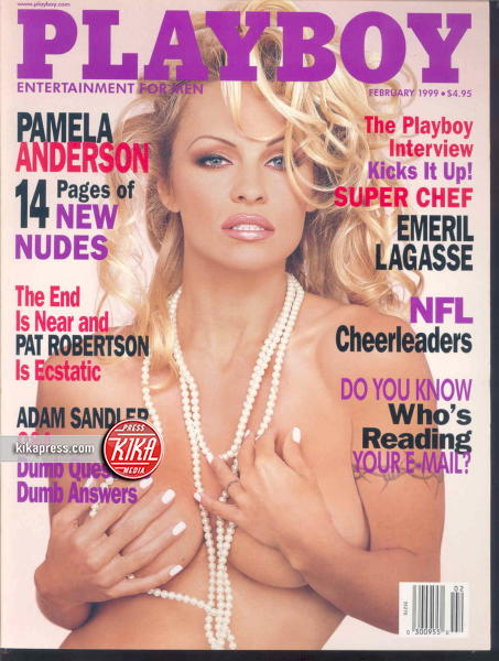 Pamela Anderson - Los Angeles - 17-04-2014 - La rivista Playboy festeggia i sessant'anni