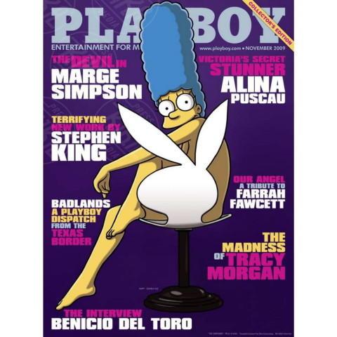 Marge Simpson - Los Angeles - 17-04-2014 - La rivista Playboy festeggia i sessant'anni