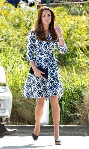 Kate Middleton - 17-04-2014 - Kate Middleton, più che un viaggio… una sfilata!