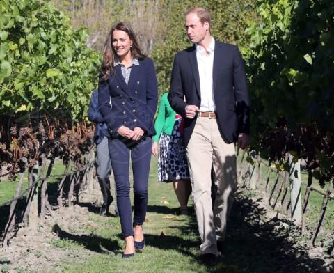 Principe William, Kate Middleton - Queenstown - 13-04-2014 - Kate Middleton, più che un viaggio… una sfilata!